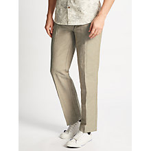 Buy John Lewis Mooring Stripe Linen Cotton Trousers, Natural Online at johnlewis.com