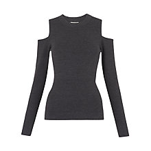 Buy Whistles Cold Shoulder Knit Top Online at johnlewis.com