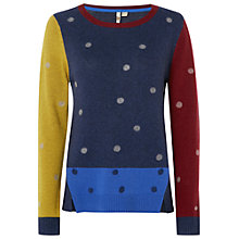 Buy White Stuff Merchant Spot Jumper, Japanese Purple Online at johnlewis.com