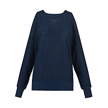 Buy Whistles Split Shoulder Sparkle Jumper Online at johnlewis.com
