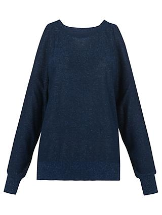 Whistles Split Shoulder Sparkle Jumper