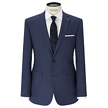 Buy Daniel Hechter Textured Marl Tailored Fit Suit Jacket, Blue Online at johnlewis.com