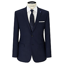 Buy Daniel Hechter Textured Tailored Fit Suit Jacket, Navy Online at johnlewis.com