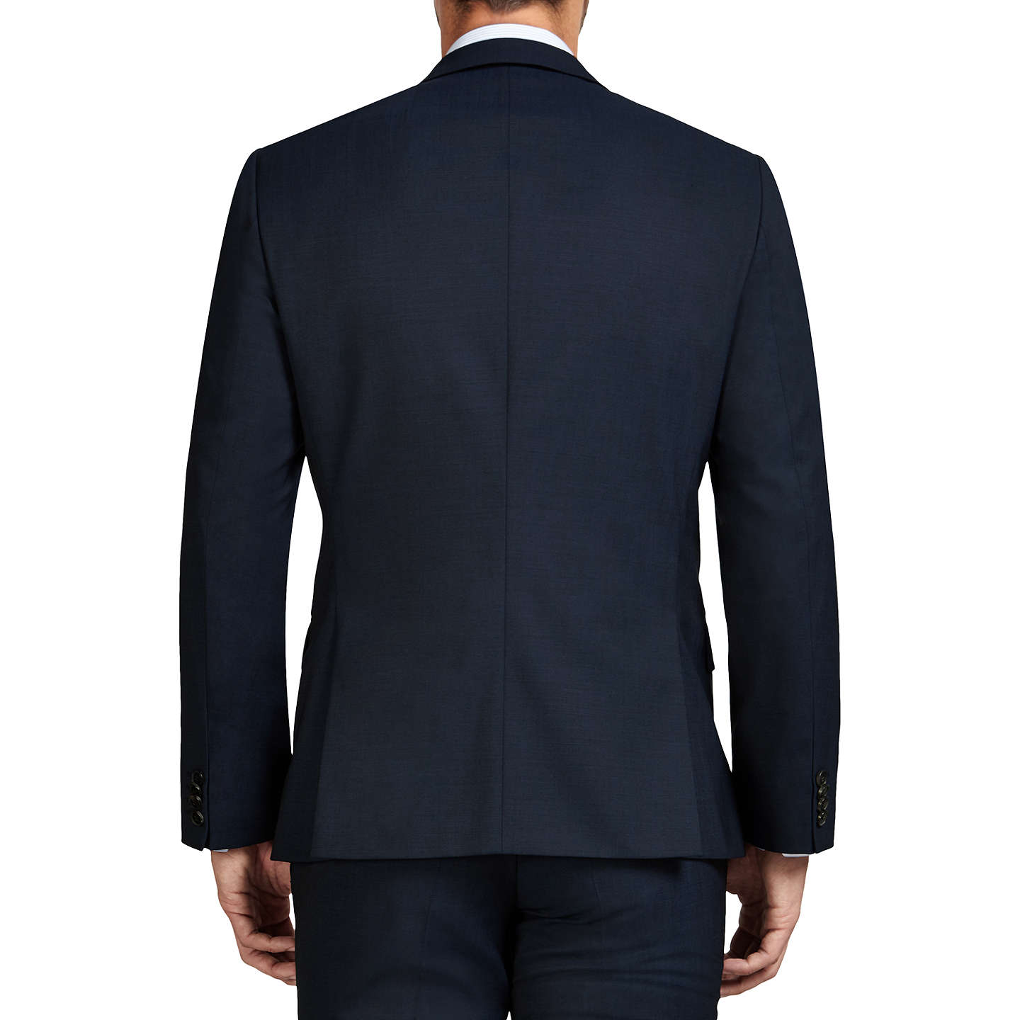 BuyHUGO by Hugo Boss Hayes Slim Fit Suit Jacket, Dark Blue, 36R Online at johnlewis.com