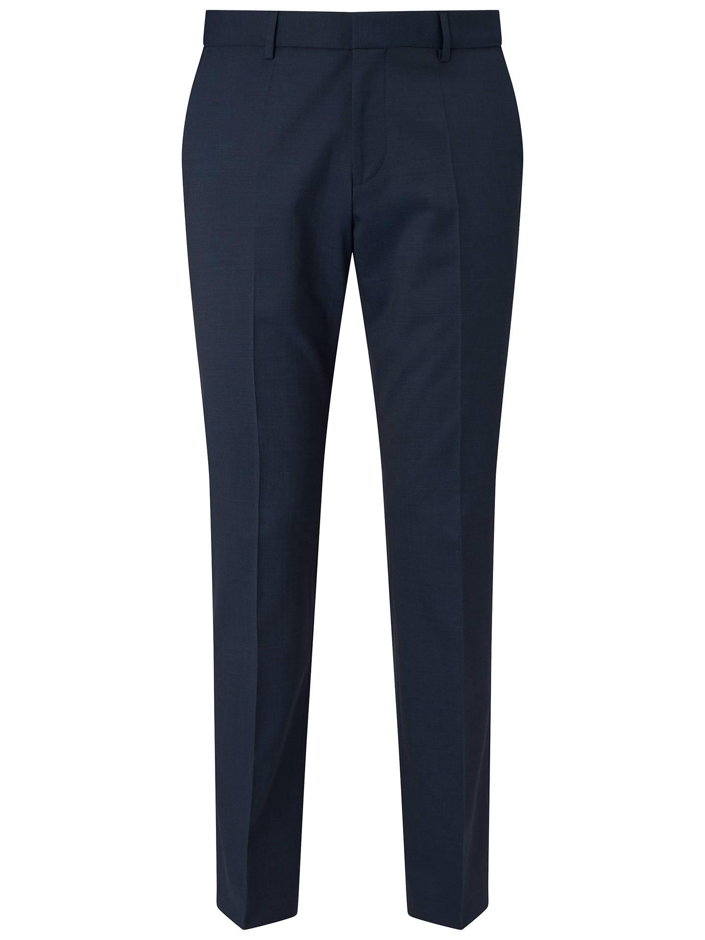 d7c415f9 Buy HUGO by Hugo Boss Genius Slim Fit Suit Trousers, Dark Blue, 36R Online  ...