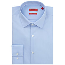 Buy HUGO by Hugo Boss C-Joey Plain Slim Fit Shirt, Light Blue Online at johnlewis.com
