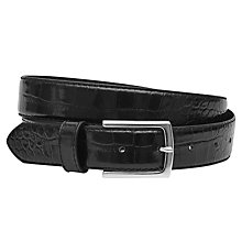 Buy Reiss Roller Croc-Patterned Belt Online at johnlewis.com