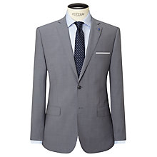 Buy Daniel Hechter Textured Marl Tailored Fit Suit Jacket, Grey Online at johnlewis.com