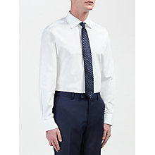 Buy Daniel Hechter Cotton Poplin Tailored Fit Shirt, White Online at johnlewis.com