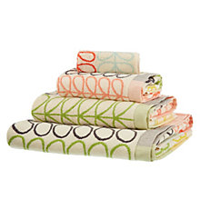 Buy Orla Kiely New Flower Stripe Towels Online at johnlewis.com
