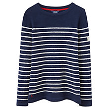 Buy Joules Seaham Chenille Jumper, Navy Online at johnlewis.com