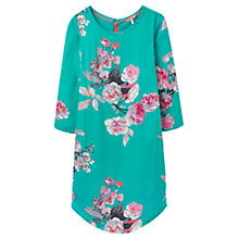 Buy Joules Martha Printed Tunic Dress, Emerald Beau Bloom Online at johnlewis.com