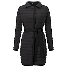 Buy Weekend MaxMara Catullo Drop-Proof Canvas Down Coat, Black Online at johnlewis.com