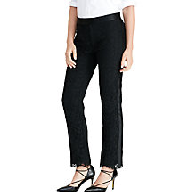 Buy Lauren Ralph Lauren Beejlie Trousers, Black Online at johnlewis.com