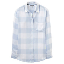 Buy Joules Laurel Check Shirt, Blue Online at johnlewis.com