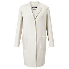 Buy Weekend MaxMara Aldeno Double Faced Coat, Ivory Online at johnlewis.com