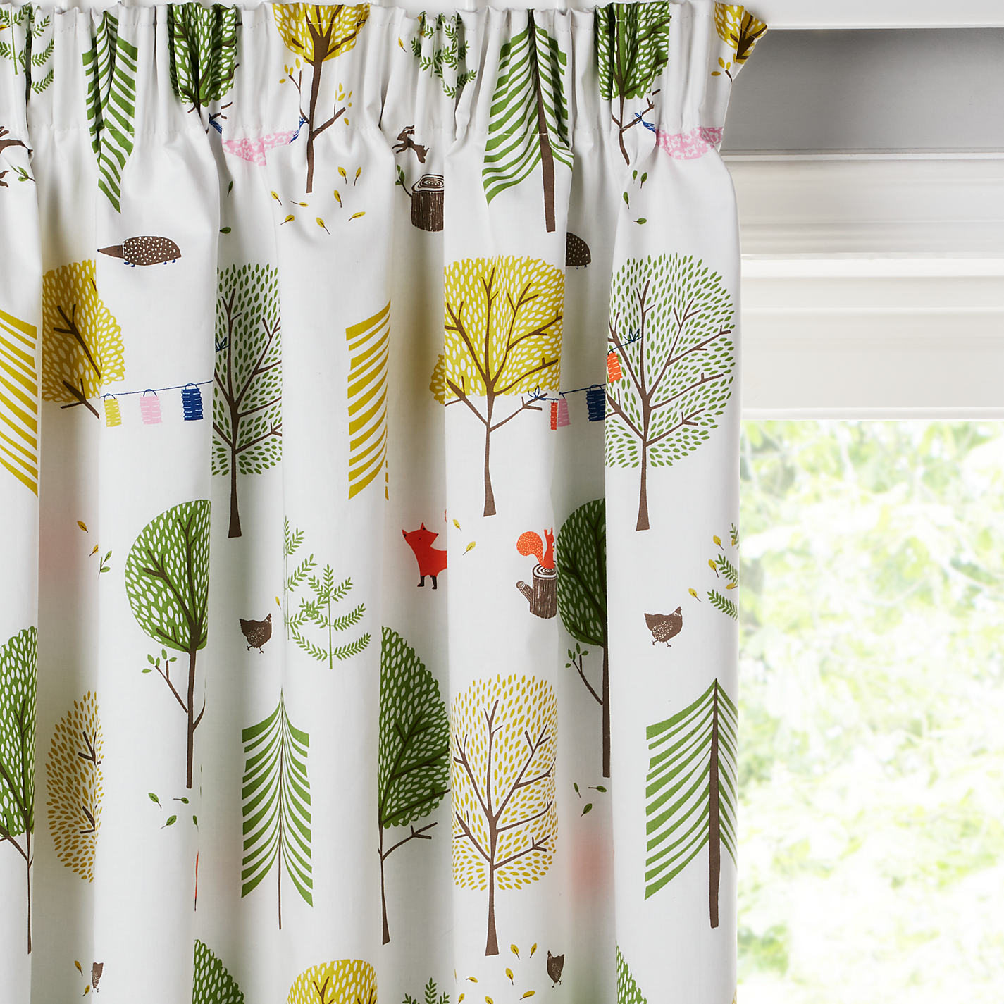 Grey and yellow curtains uk john lewis - Buy Little Home At John Lewis Camping Pencil Pleat Blackout Lined Children S Curtains Online At Johnlewis