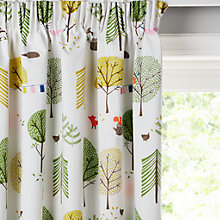 Buy little home at John Lewis Camping Pencil Pleat Blackout Lined Children's Curtains Online at johnlewis.com