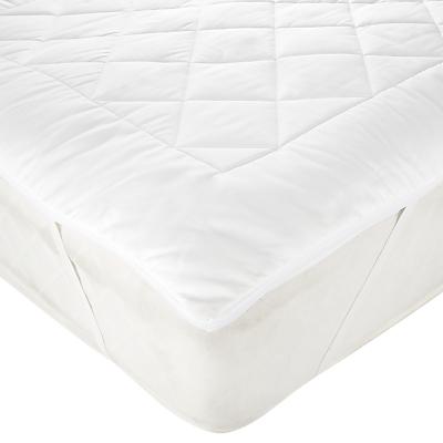 John Lewis Natural Light Cotton Comfort Dual Layer Mattress Topper