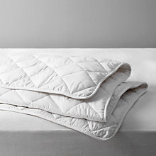 Buy John Lewis Natural Light Cotton Comfort Duvet, 4.5 Tog Online at johnlewis.com