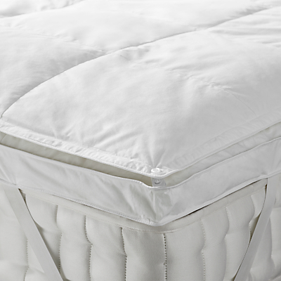 John Lewis Dual Layer Duck Down Mattress Topper