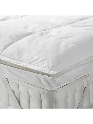 John Lewis Partners Natural Duck Down 5cm Deep Mattress Topper