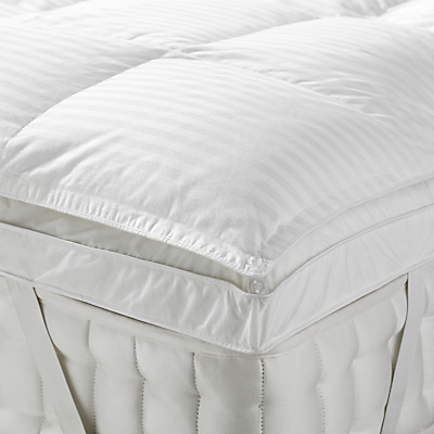 John Lewis Natural Collection Hungarian Goose Down Mattress Topper