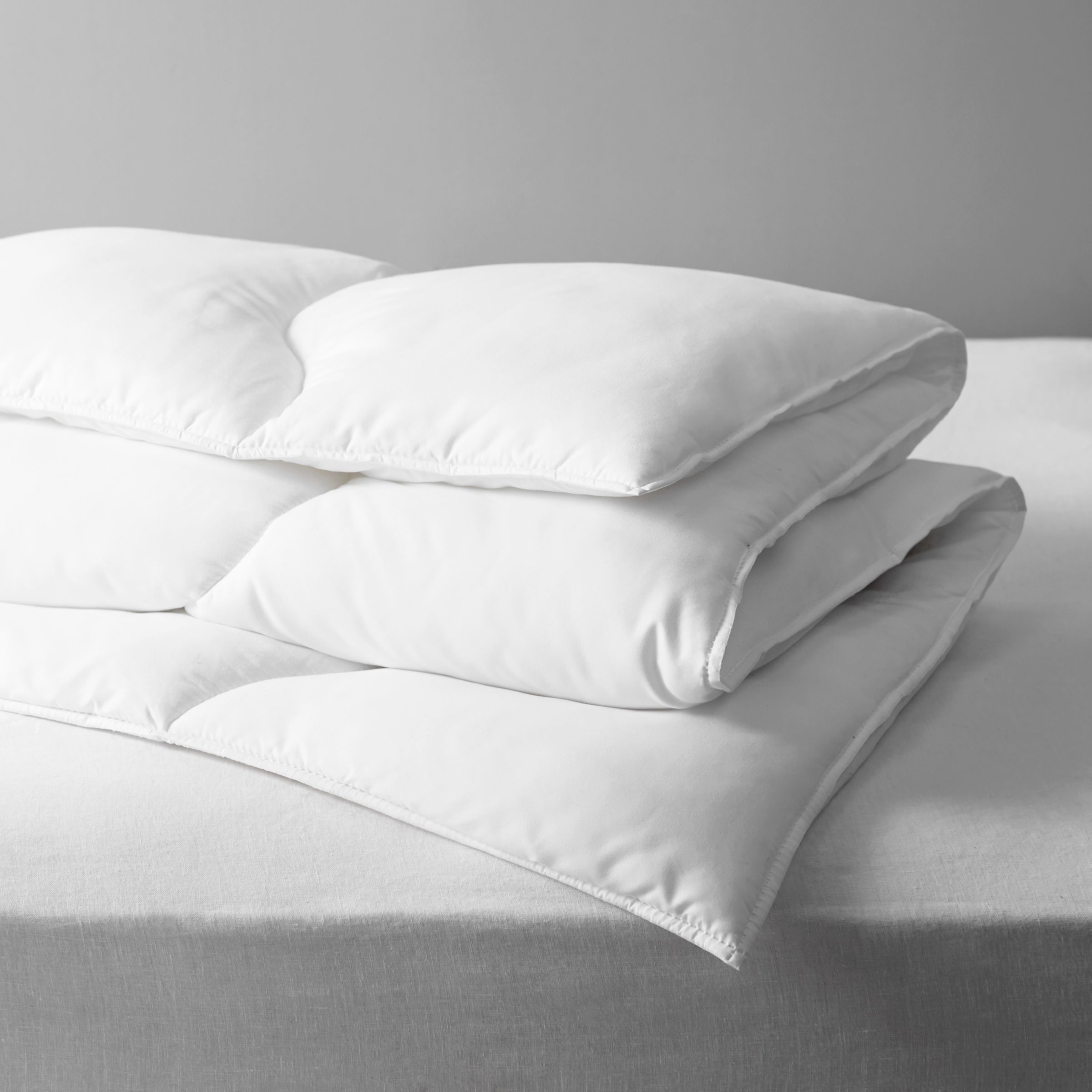 John Lewis & Partners Synthetic Soft Touch Washable Duvet, 7 Tog
