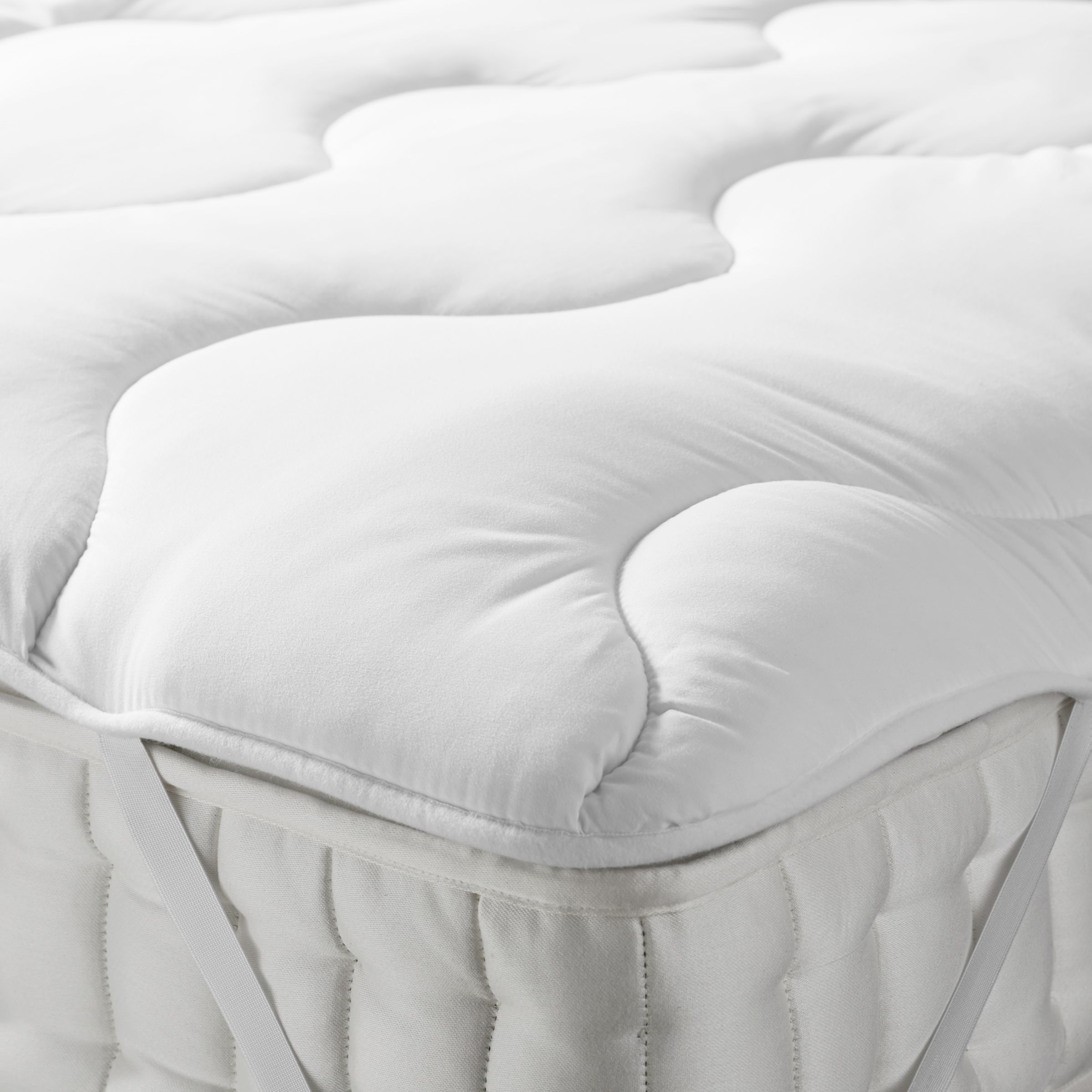 ANYDAY John Lewis & Partners Synthetic Soft and Light Mattress Topper
