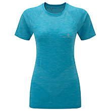 Buy Ronhill Infinity Short Sleeve Running T-Shirt, Blue Online at johnlewis.com