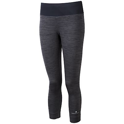 Ronhill Momentum Victory Cropped Running Tights, Grey