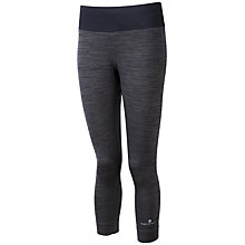Buy Ronhill Momentum Victory Cropped Running Tights, Grey Online at johnlewis.com