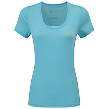 Buy Ronhill Stride Zeal Short Sleeve Running Top, Blue Online at johnlewis.com