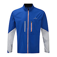 Buy Ronhill Stride Windspeed Men's Running Jacket, Blue Online at johnlewis.com