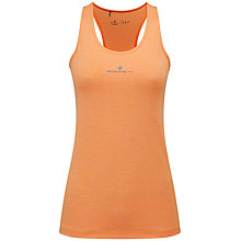 Buy Ronhill Momentum Body Running Tank Top, Orange Online at johnlewis.com