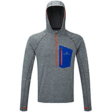Buy Ronhill Momentum Victory Men's Running Hoodie, Grey Online at johnlewis.com
