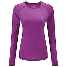 Buy Ronhill Momentum Long Sleeve Running Top, Purple Online at johnlewis.com