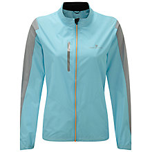 Buy Ronhill Stride Windspeed Women's Running Jacket, Blue/Grey Online at johnlewis.com