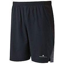 "Buy Ronhill Momentum 7"" Running Shorts, Black Online at johnlewis.com"