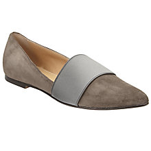 Buy Kin by John Lewis Hildur Elastic Ballet Pumps Online at johnlewis.com