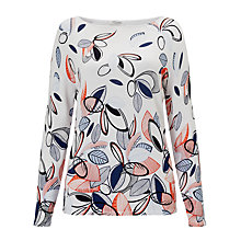 Buy Gerry Weber Long Sleeve Printed Jumper, Multi Online at johnlewis.com