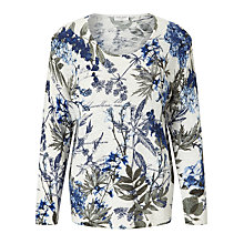 Buy Gerry Weber Lightweight Printed Jumper, Multi Online at johnlewis.com