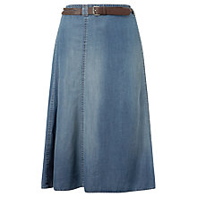 Buy Gerry Weber Denim Skirt, Blue Online at johnlewis.com