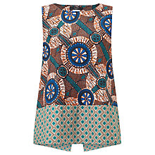 Buy Weekend MaxMara Ermanna Printed Top, Multi Online at johnlewis.com