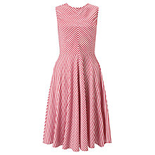 Buy Marella Magenta Stripe Dress, Ruby Online at johnlewis.com