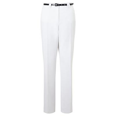 Gerry Weber Pamela Straight Leg Trousers, White