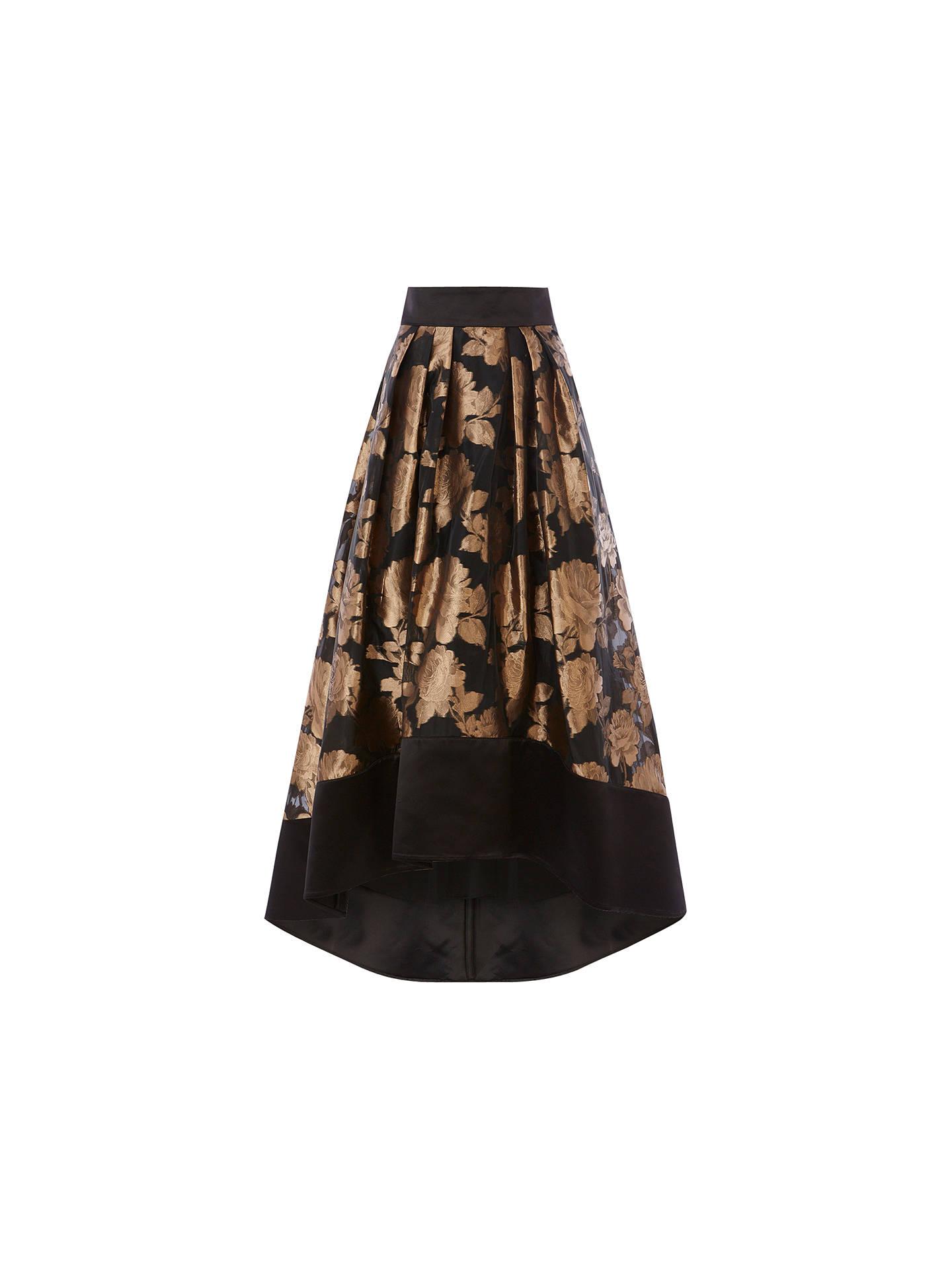 dfe48883b Buy Coast Flower Rhian Skirt, Gold, 6 Online at johnlewis.com ...