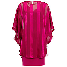 Buy Gina Bacconi Soho Crepe Dress And Stripe Cape Online at johnlewis.com