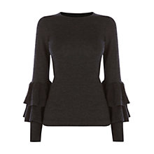 Buy Coast Raffie Raffle Sleeve Knit Top Online at johnlewis.com