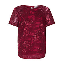 Buy Fenn Wright Manson Volcano Top, Red Online at johnlewis.com